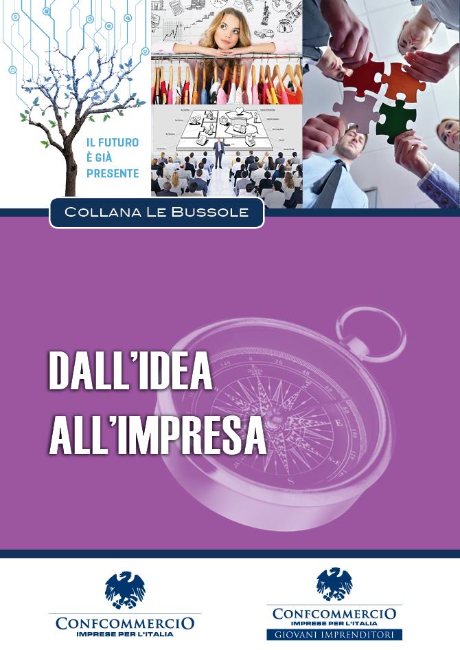 Copertina volume: Dall'idea all'impresa