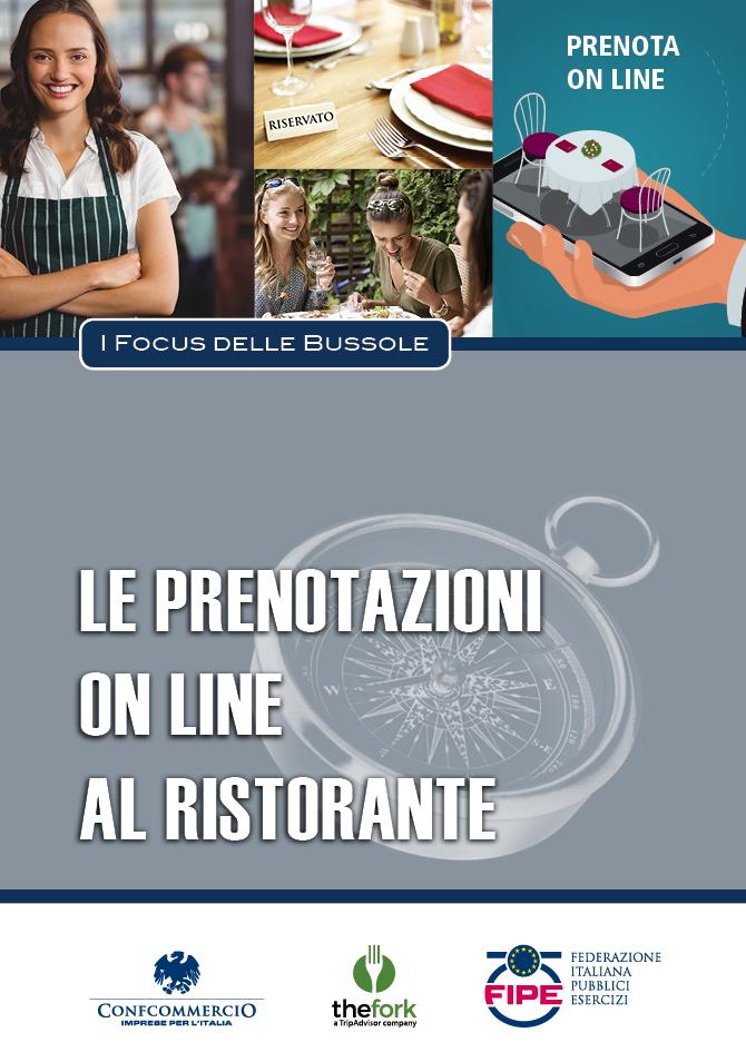 Copertina volume: Le prenotazioni on line al ristorante